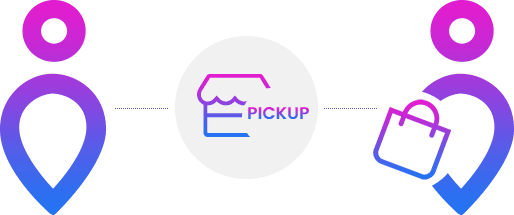 stockinstore click and collect Buy online pick up in store BOPIS solution with Ship from Store
