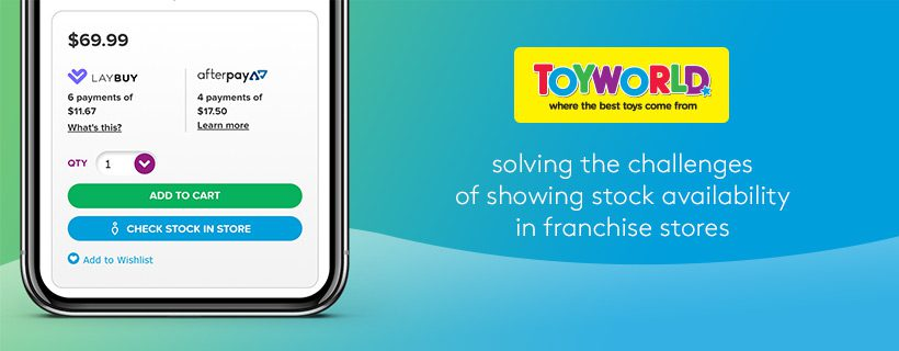 Australia and New Zealand's largest toy store retailer chooses stockinstore to show customers stock availability in their franchise store network