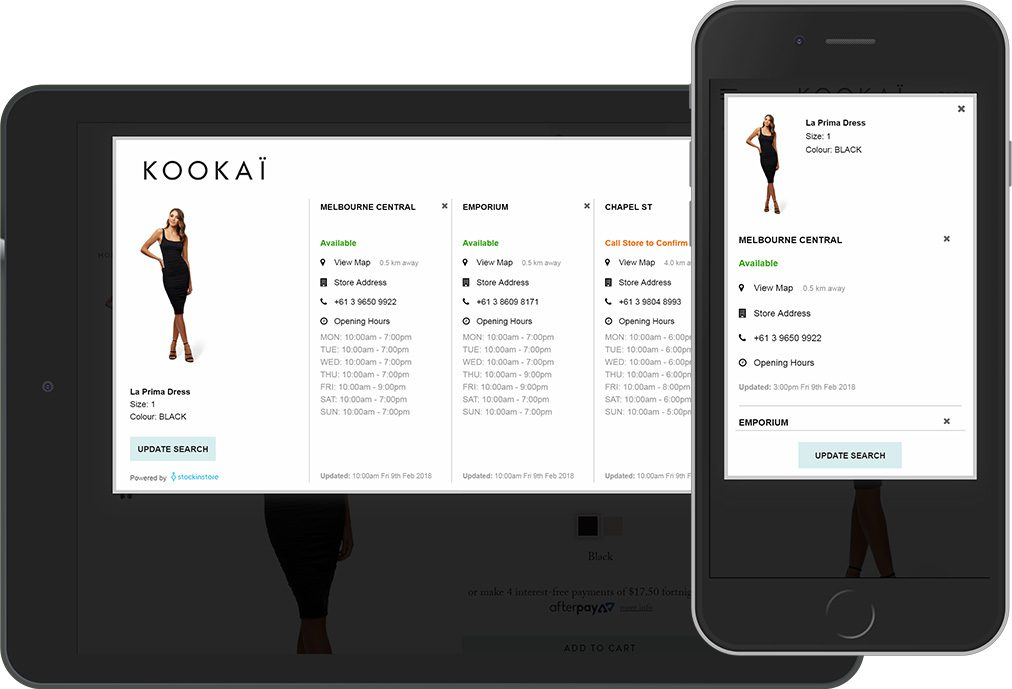 Australian start-up offering real time stock visibility for omni channel retailers has signed iconic womens clothing brand, Kookai.